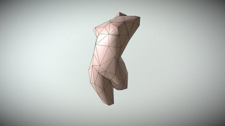 Escultura Arte LOW2 3D Model
