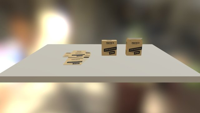 vỏ hộp 3D Model