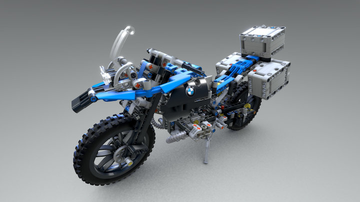 Day#62: BMW R1200 GS 3D Model
