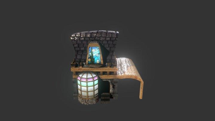 Fantasy Shop 3D Model