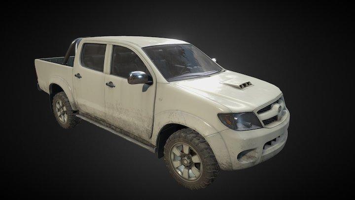 Toyota_Hillux 3D Model