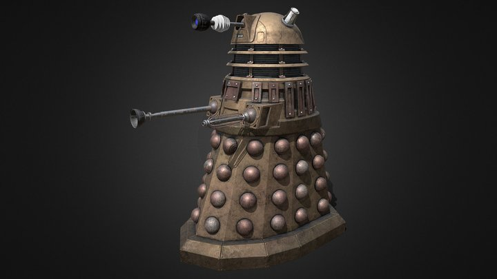 Dalek (Animated) 3D Model