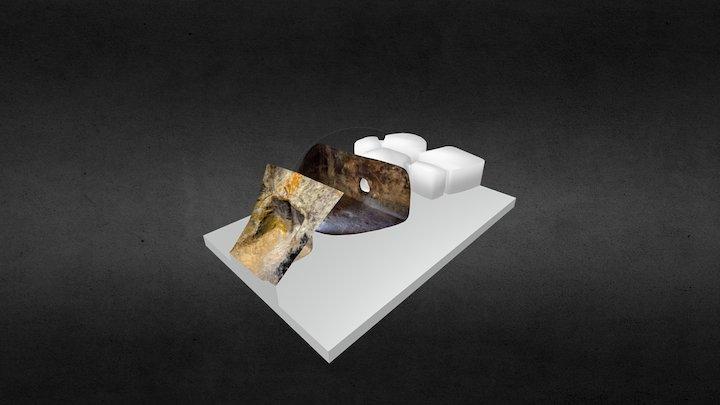 Necropoli di Sas Concas - Tomba dell'Emiciclo 3D Model
