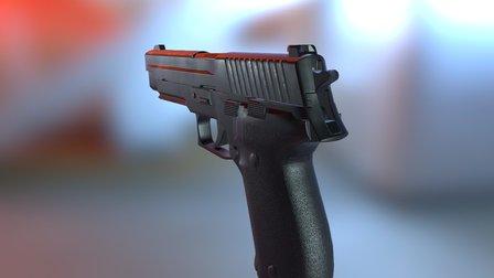 P226 - WIP 3D Model