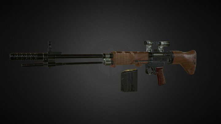 Fg 42 3D Model