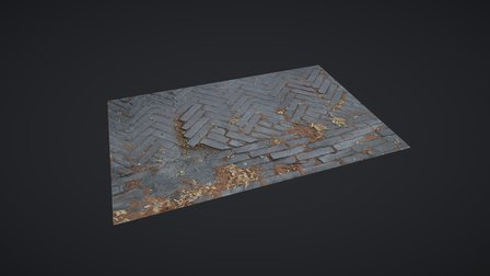 Street 02 3D Model