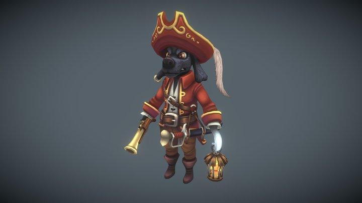 #PiratesChallenge - Hook 3D Model