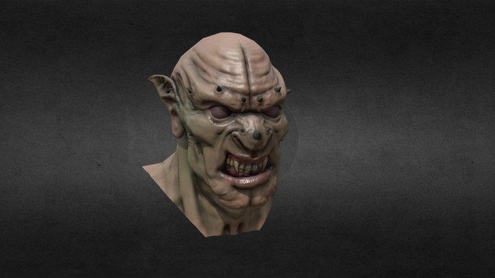 The ore head 3D Model