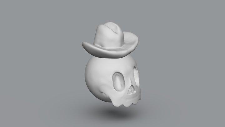 Skull Hut 3D Model