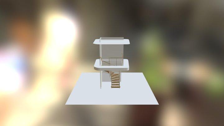 U-trappa_Magnusstridb�ck_uppsadlad_2 3D Model