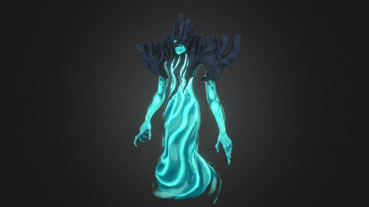 Rock Siren 3D Model