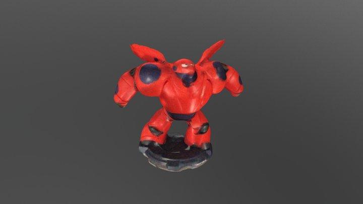 Hero6 3D Model