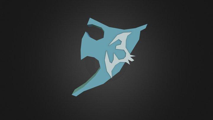 Elysian Spirit Shield 3D Model