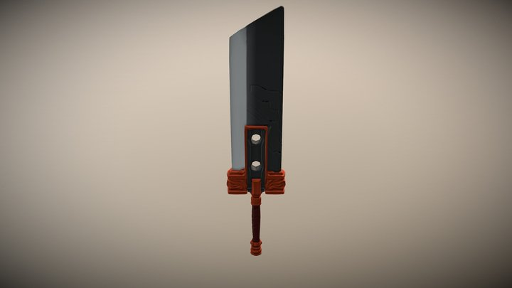 FF7 sword 3D Model