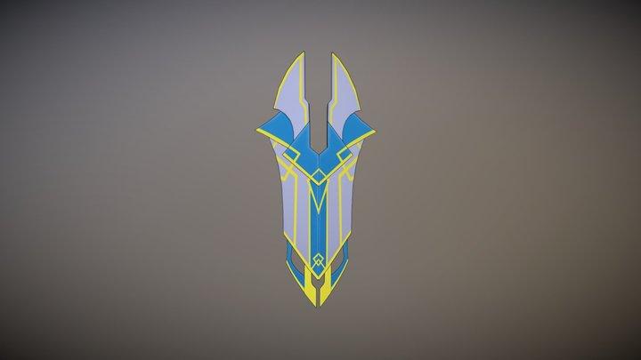 General Amaya's Shield 3D Model