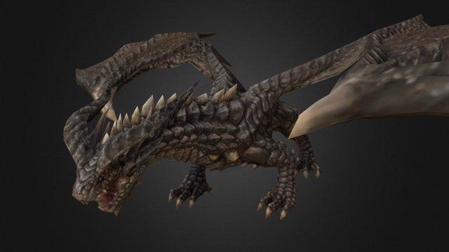Dragon01@fire 3D Model