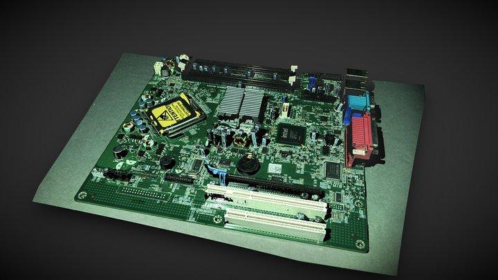Motherboard (PCB) 3D Model