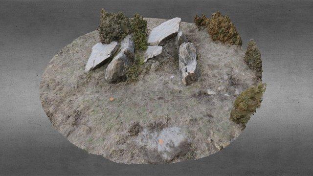 Dolmen de la Llosa 2015 3D Model