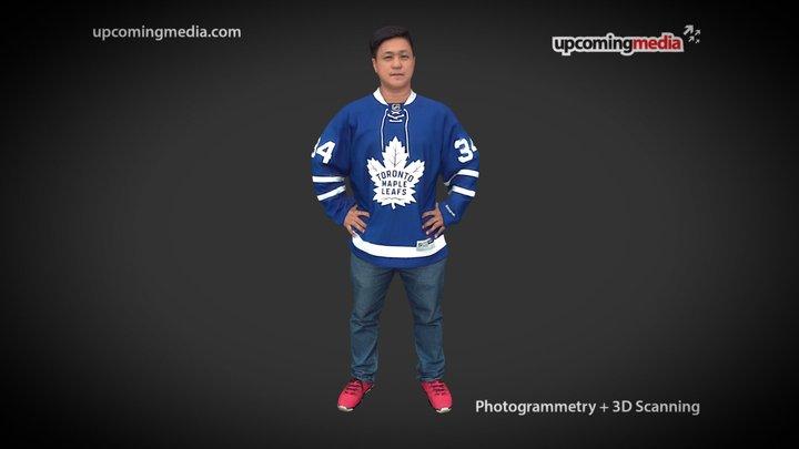 Proud Hockey Fan 3D Model