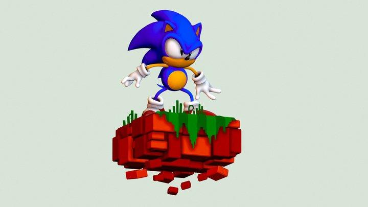 Sonic Angel Island 3D Model