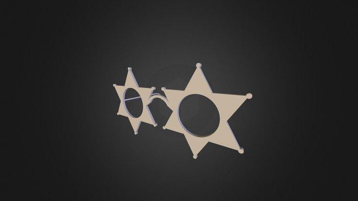 lunettes 3D Model