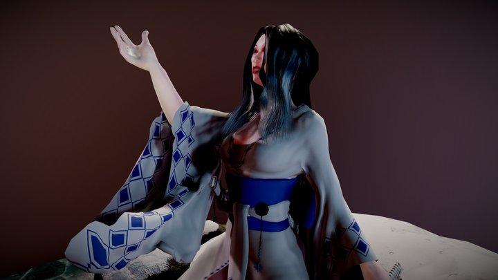 Yuki onna 3D Model