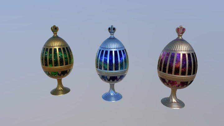 Eastereggs 3D Model