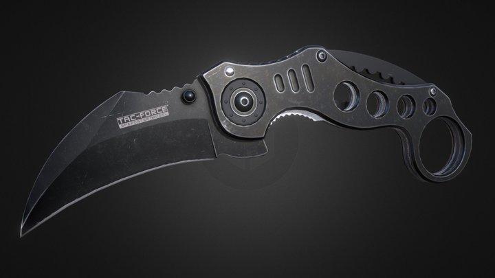 Tac Force Knife 3D Model