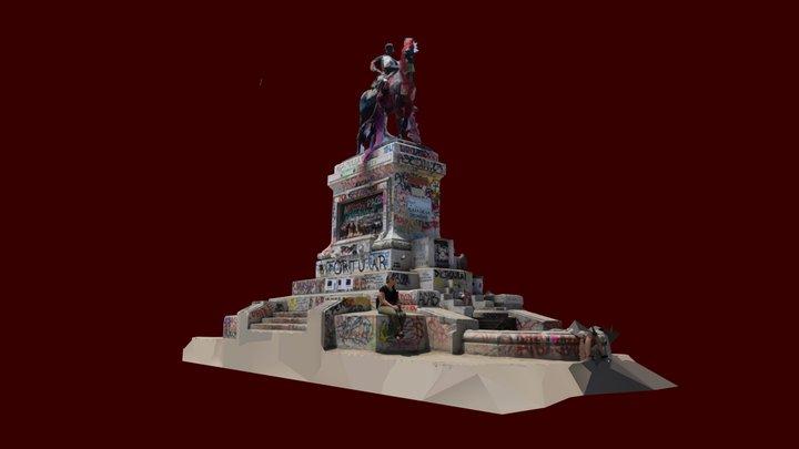 Plaza Dignidad, Ex-Plaza Italia 3D Model
