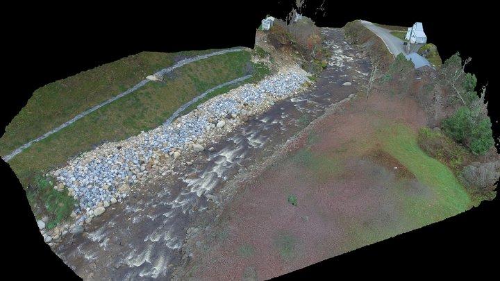 West Branch Deerfield River 3D Model