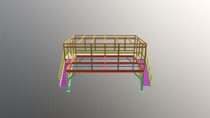 MEZANINO AGC VIDROS 3D Model