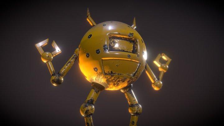 Ball Robot 3D Model