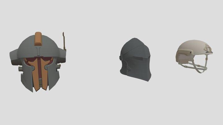 Star Wars Helmet, Medieval Helmet, Ops Core FAST 3D Model