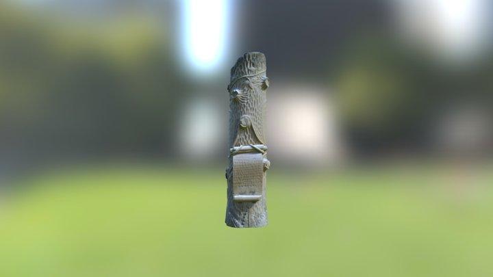 Stone Tree Two 3D Model