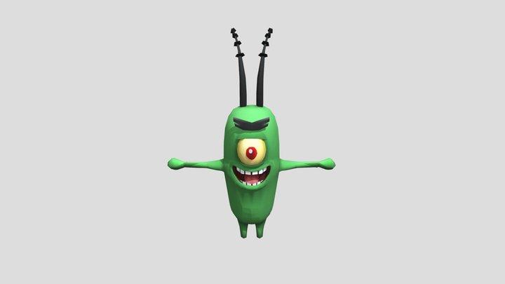 Plankton Dance! 3D Model