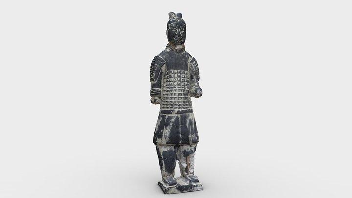 Terracotta Warrior Statue 3D Model