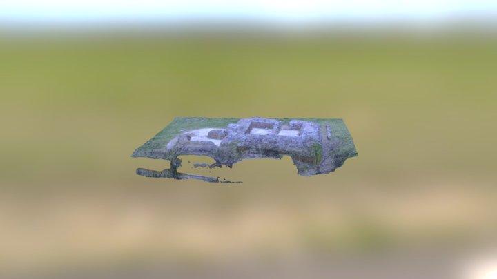 Donjon du château de Gavray 3D Model