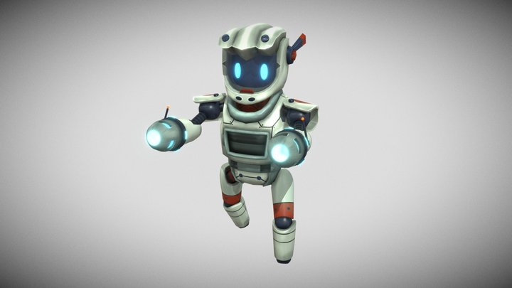 Robot for my game 3D Model