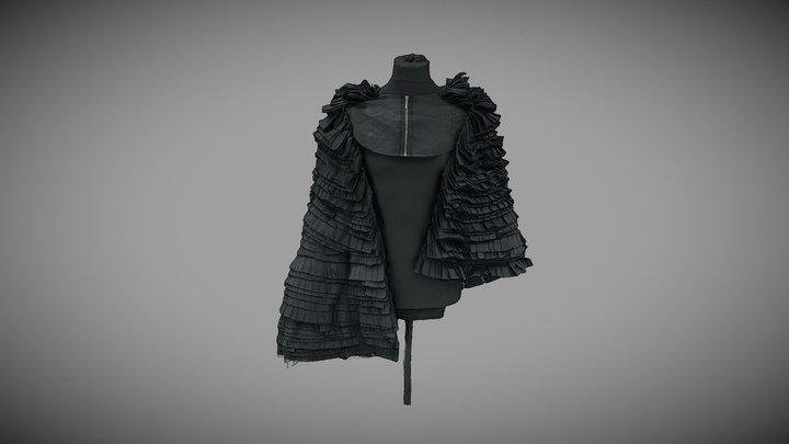 Fashion coat #AgisoftClothesChallenge 3D Model