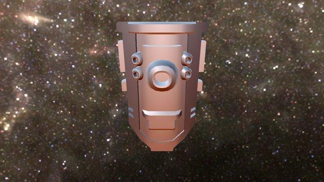 Boubou (Futuristic Shield) 3D Model