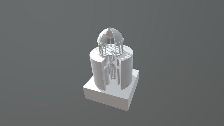 Archéologie technique salle à manger Néron V1 3D Model
