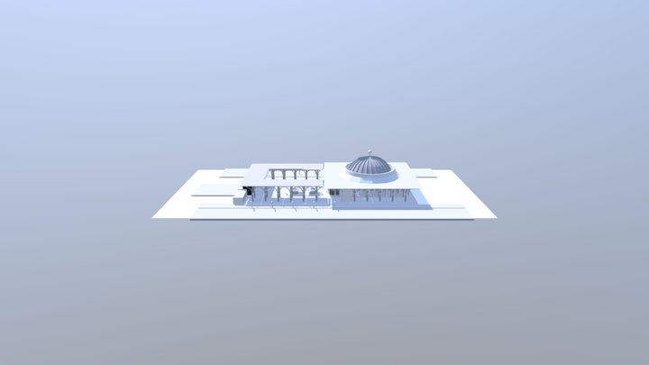 Tuanku Mizan Zainal Abidin Mosque 3D Model
