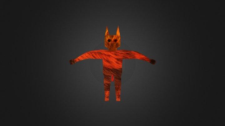 Catman 3D Model