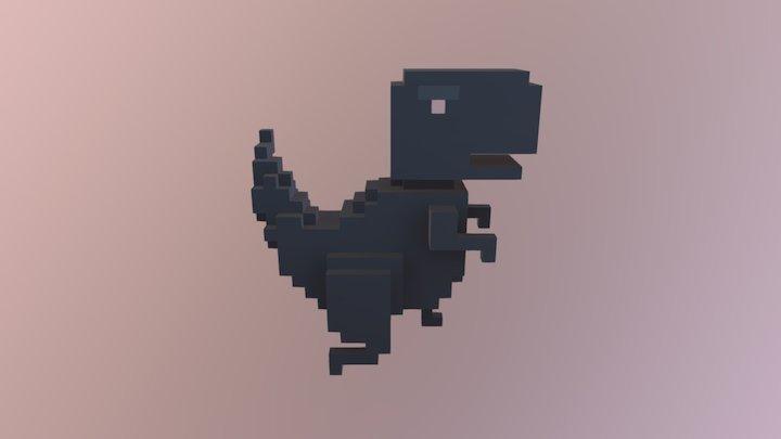T- Rex Bake 3D Model