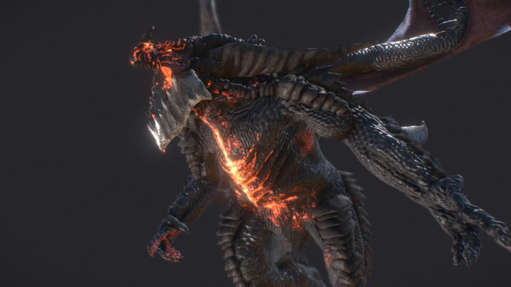 Deathwing 3D Model