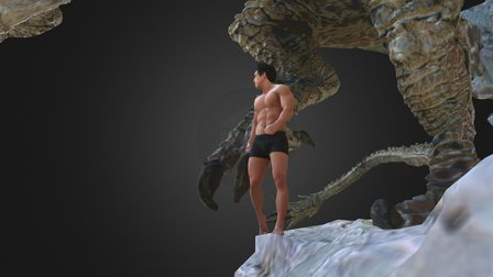Dragon Knight 3D Model