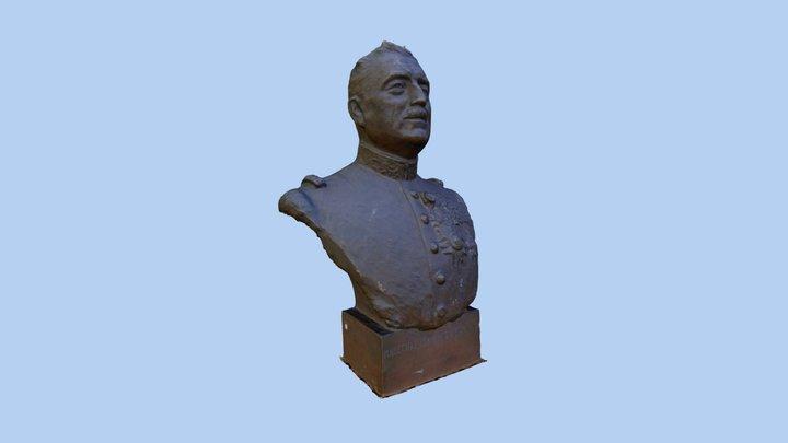 04 - Buste Maréchal Franchet d'Espèrey 3D Model
