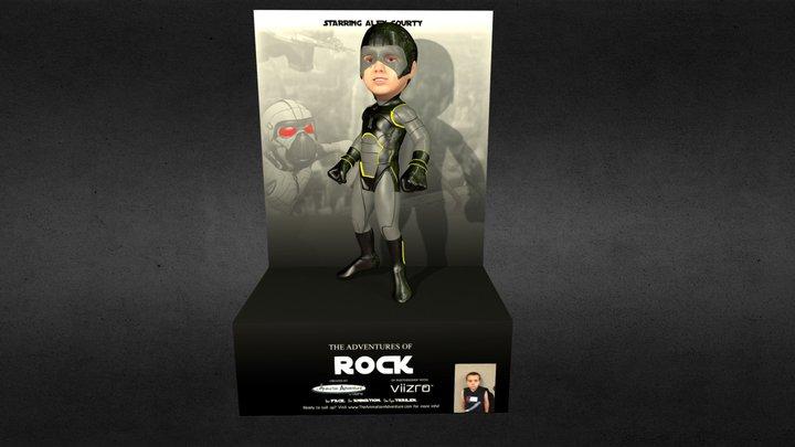 Adventures of: The Rock 3D Model
