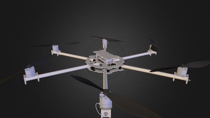 Hexacopter 680 3D Model
