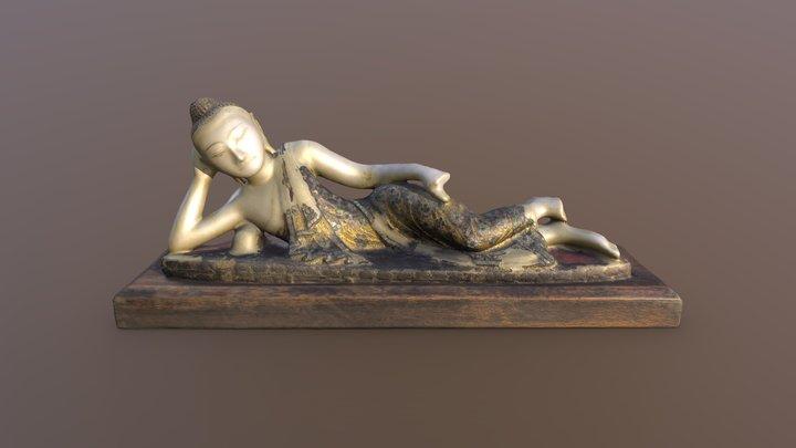 Reclining Buddha 3D Model